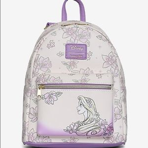 Loungefly Disney Rapunzel Sketch mini backpack